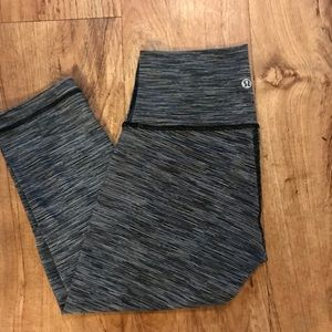 Wunder under (high waisted )crop leggings